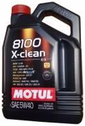 Motul 8100 X-Cess. Вязкость 5W-40, синтетическое
