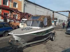 Казанка-5М. Год: 2012 год, длина 4,90м., двигатель подвесной, 50,00л.с., бензин