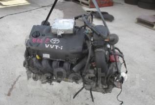 Двигатель в сборе. Toyota Funcargo, NCP20 Двигатель 2NZFE