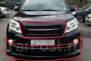 Обвес кузова аэродинамический. Toyota Land Cruiser Prado, GDJ150W, GRJ150L, GDJ150L, GRJ150W, TRJ150W, GRJ150