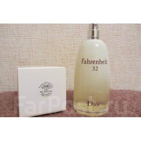 тестер Christian Dior Fahrenheit 32 100 Ml парфюмерия во