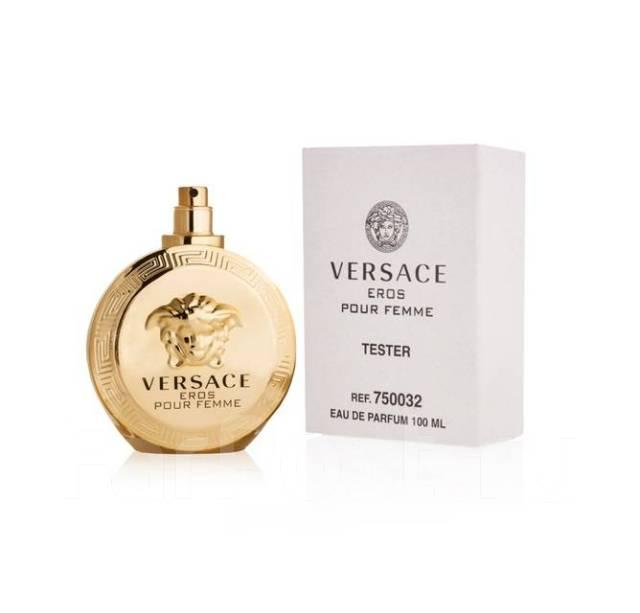 тестер Versace Eros Pour Femme Eau De Parfum 100 Ml парфюмерия