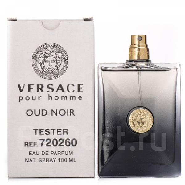 тестер Versace Pour Homme Oud Noir Eau De Parfum 100 Ml