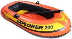 Intex Explorer. длина 1,85м., двигатель без двигателя