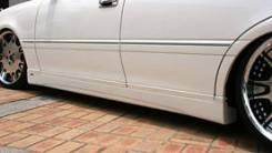 Порог пластиковый. Toyota Crown, JZS179, JZS175, JZS173, GS171, GS171W, JZS171, JZS175W, JZS171W, JZS173W