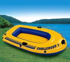 Intex Challenger. длина 1,93м., двигатель без двигателя