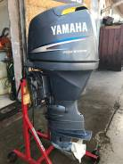 Yamaha. 80,00л.с., 4-тактный, бензиновый, нога X (635 мм), Год: 2002 год