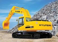 Ходовая часть на экскаватор Hyundai R250LC-7