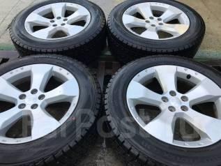 Жирнейшая японская зима с дисками Subaru 225/60R17 99% остатка. 7.0x17 5x100.00 ET48