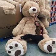 Огромный мягкий медведь плюшевый медведь 2.6 метра 40 шт