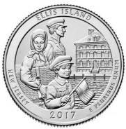 США 39-й парк Эллис (монумент острова Эллис). 2017. Двор P или D