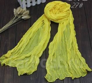 Ультрамодный женский шарф! Лимонный цвет!. 40-44, 40-48, 46, 48, 50