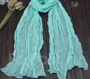 Ультрамодный женский шарф! Мятный цвет!. 40-44, 40-48, 46, 48, 50
