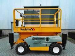 Haulotte Compact 10RTE. Ножничный подъёмник самоходный электрический, 10 м. Под заказ