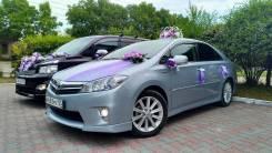 Аренда авто на свадьбу Vip Toyota Sai 2012 —2017 Lexus HS250h. С водителем