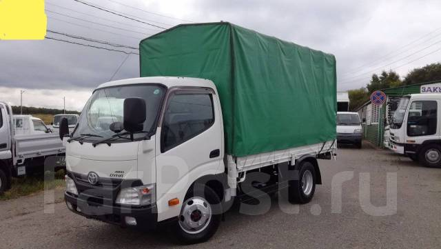Toyota Dyna. 4WD, борт 4 тонны + тент, 4 000 куб. см., 4 000 кг.