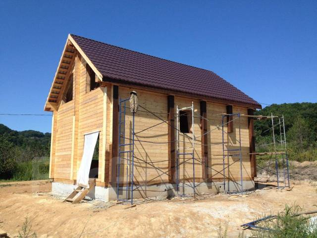 Строительство экологически чистых домов из Бруса .