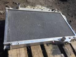 Радиатор охлаждения двигателя. Toyota Supra, JZA80 Двигатель 2JZGTE