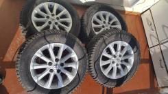 Колёса зимние шипованные Toyota Camry 215/65R16. 6.5x16 5x114.30 ET45 ЦО 60,1мм.