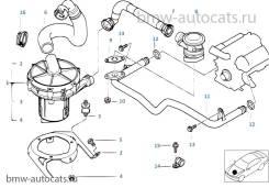 Датчик кислородный. BMW X5, E53 Двигатели: M62B44T, M62B44TU