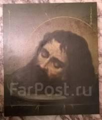 Икона. Голова Иоанна Предтечи Крестителя. Академическое письмо. Масло. Оригинал. Под заказ