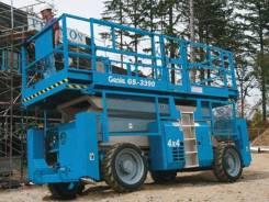 Genie GS. Ножничный дизельный подъёмник повышенной проходимости, 12,00м. Под заказ