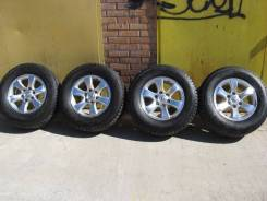 Диски оригинальные Toyota Prado120+отличная зима 265/65R17. 7.5x17 6x139.70 ET30 ЦО 106,2мм.