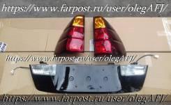 Планка под фары. Toyota Land Cruiser Prado, KDJ121, KZJ120, TRJ120W, GRJ120, VZJ121W, VZJ120W, VZJ120, TRJ120, KDJ121W, GRJ121W, KDJ120W, LJ120, RZJ12...
