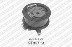 Ролик GT357.51 нат. ГРМ\Audi A2/A3/A4.VW Bora/Golf 1.4-2.0TDI 00>