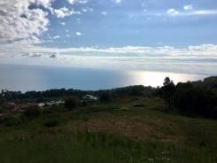 Земельный участок с видом на море. 5 600 кв.м., собственность, электричество, вода, от агентства недвижимости (посредник)