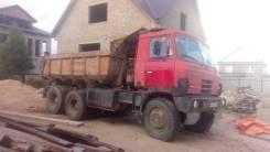 Tatra T815. Две татры самосвала, 12 700 куб. см., 17 100 кг.
