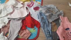 Пакет теплых вещей на девочку 86 см. Рост: 86-98 см