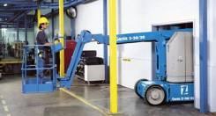 Genie. Коленчатый самоходный электрический подъёмник, 11 м. Под заказ