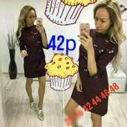 Платья-рубашки. 42, 44, 40-44