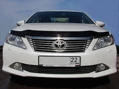 Дефлектор капота. Toyota Camry, GSV50, ASV51, ASV50, AVV50 Двигатели: 6ARFSE, 2GRFE, 2ARFXE, 2ARFE