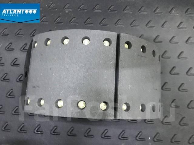 Колодка тормозная. Atlant Cimc DAF Hyundai Iveco Kogel Krone MAN Renault Scania Schmitz Volvo Тонар