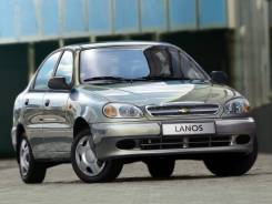 Дефлектор капота. Chevrolet Lanos, T100