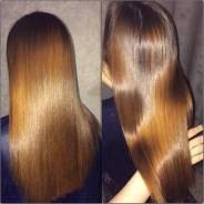 Кератиновое выпрямление(востановление)@цистеирование волос