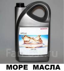 Honda. Вязкость 5W-30, синтетическое