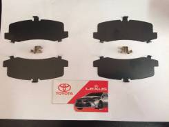 Пластина суппорта. Toyota: Land Cruiser, FJ Cruiser, Hilux Surf, Land Cruiser Prado, Sequoia, 4Runner Lexus GX470, UZJ120 Двигатели: 1FZFE, 1GRFE, 1HD...