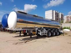 Foxtank. Полуприцеп цистерна пищевая (молоковоз, масловоз) FoxTank 24м3 Новая, 24,00куб. м.