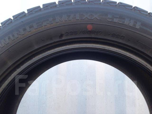 Dunlop Winter Maxx SJ8. Зимние, 2014 год, износ: 10%, 4 шт