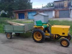 Ямал. Мини-трактор с прицепом, 14,00л.с.