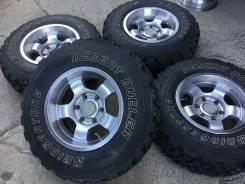 30/9.5R15LT Bridgestone M/T шипы, на литье. (15521R). 8.0x15 6x139.70 ET0 ЦО 110,0мм.