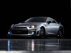 Обвес кузова аэродинамический. Nissan GT-R. Под заказ