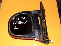 Зеркало заднего вида боковое. Mitsubishi Delica, PE8W Двигатель 4M40