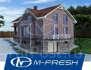 M-fresh Anton Style plus! -зеркальный (В цоколе гараж на две машины! ). 300-400 кв. м., 1 этаж, 5 комнат, бетон