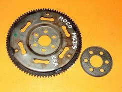 Маховик. Nissan Moco, MG21S Двигатель K6A