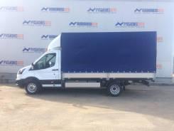 Ford Transit Van. Бортовой 470 фургон с тентом SVO (4300х2200х2300), 2 200 куб. см., 990 кг.