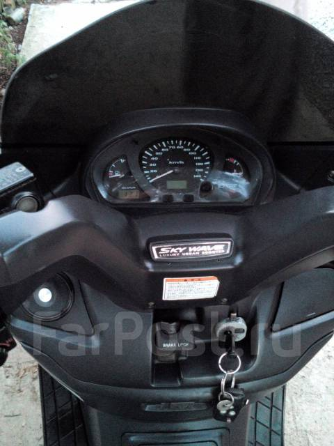 Suzuki Skywave 250. 250 куб. см., исправен, птс, с пробегом